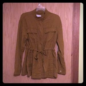 NWT Safari Utility Light Jacket